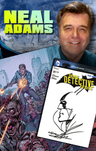 Neal Adams is Coming to Alien Worlds Wed Oct 23!!! Come join us!!