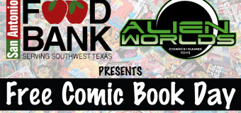Food Bank & Alien Worlds present Free Comic Book Day