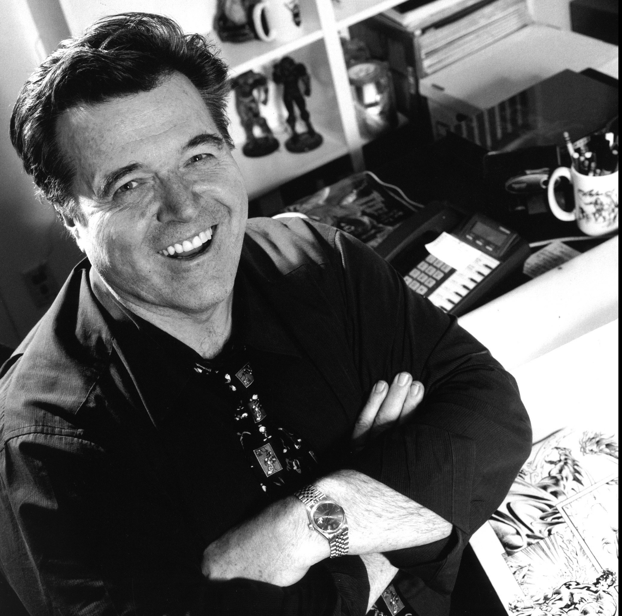 FAMED BATMAN/GREEN LANTERN ARTIST NEAL ADAMS WILL BE HERE SEPTEMBER 24TH FROM 12 NOON TO 3PM DOING SIGNINGS, SKETCHES, E.T.C.! - NealAdams_portrait