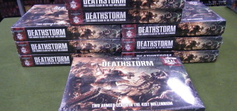 WARHAMMER 40K DEATHSTORM IN TODAY!