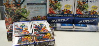 NEW GAMING IN TODAY! DICE MASTERS!