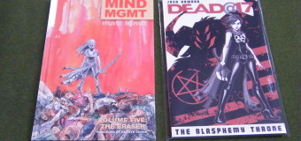NEW GRAPHIC NOVELS IN TODAY! 7/22/15