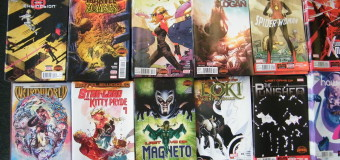 NEW COMICS IN TODAY! 7/22/15