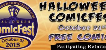 HALLOWEEN COMIC FEST @ ALIEN WORLDS OCTOBER 31ST!