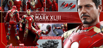 SIDESHOW HOT TOYS NEW 1/4 SCALE IRONMAN! HUGE!