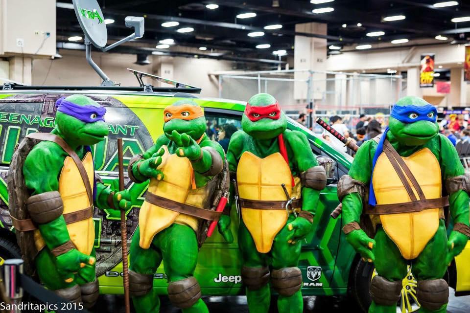 Teenage Mutant Ninja Turtles Live At Alien Worlds Alien Worlds
