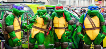 "Teenage Mutant Ninja Turtles ""LIVE"" at ALIEN WORLDS!"