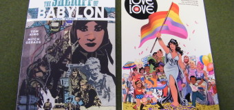 NEW GRAPHIC NOVELS IN TODAY! 02/01/2017